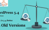 WordPress 5.4 Comparison: Why is 5.4 Better than Old Versions
