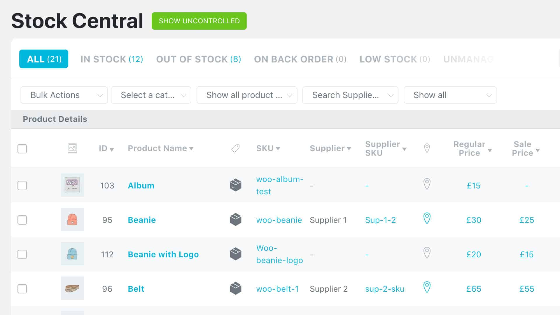 ATUM Inventory Management Plugin for Woocommerce