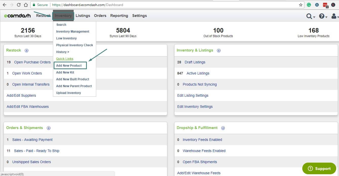 Ecomdash WooCommerce Inventory Management Plugin