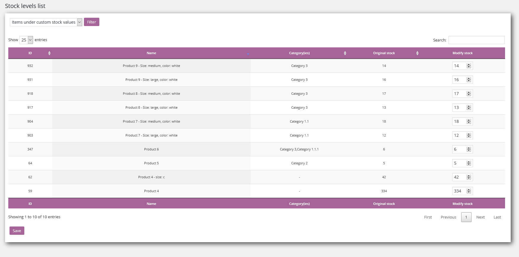 WooCommerce Out of Stock Inventory Management Plugin