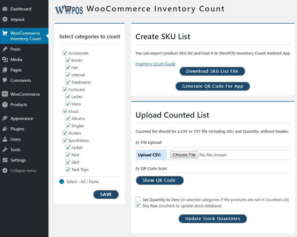 WooPOS Inventory Management Plugin